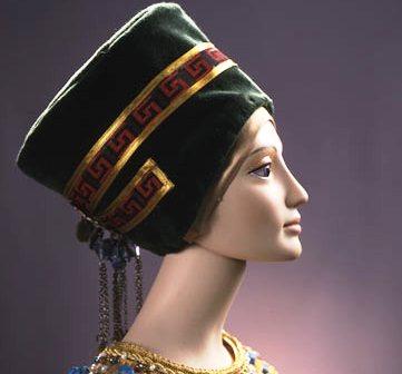 Маска для шеи Нефертити