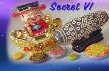 Бусины дзи и акция Secret-VI «Зимняя сказка»