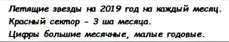 Год Земляного Кабана (Свиньи). Летящие звезды 2019